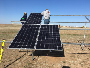 Solar Array Installation